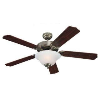 Sea Gull Lighting Quality Max Plus 52 in. Antique Brushed Nickel Indoor Ceiling Fan 15030BLE 965