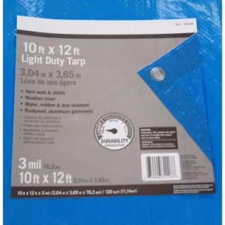 10 ft. x 12 ft. Light Duty Tarp PYLTD1012