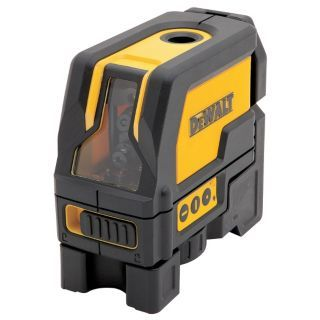 DEWALT Electronic Self Leveling Laser Layout Tool, Horizontal and Vertical, Interior and Exterior   Rotary and Straight Line Laser Levels   31CL61|DW0822