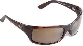 Maui Jim Peahi Polarized Sunglasses   Burgundy   Mens