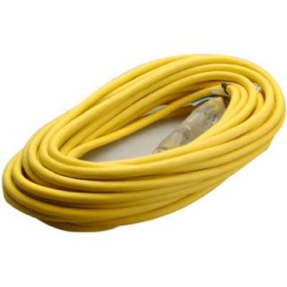 50 Ft. 14/3 SJEOW Yellow Polar Solar Contractor Grade Outdoor Extension Cord Model# 01488