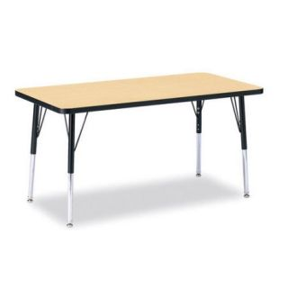 Jonti Craft KYDZ 60'' x 30'' Rectangular Classroom Table