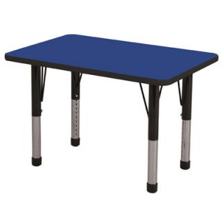 ECR4Kids 36 x 24 Rectangular Classroom Table