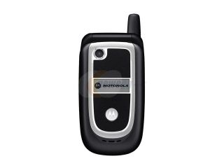 Open Box Motorola V237 10.5 MB Black Flip VGA Camera /MP4 Player Unlocked GSM Cell Phone