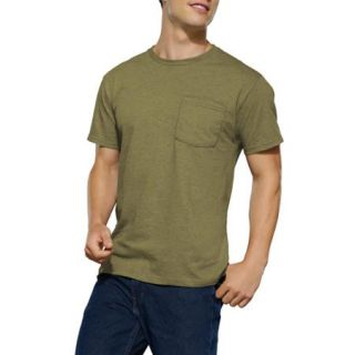 Fruit of the Loom Big Men's Assorted Pocket T Shirt, 4 Pack