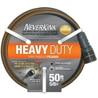 Neverkink 5/8 in. Dia x 50 ft. Heavy Duty Water Hose 8616 50