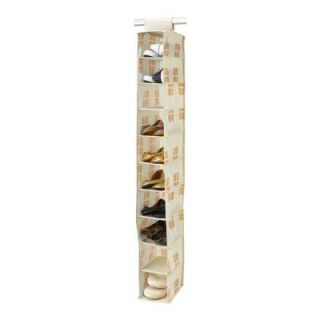 Seda France Cameo Key Cream 10 Shelf Shoe Organizer SF 85023