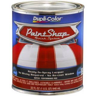 Dupli Color/Performance red Paint Shop finish system base coat BSP203   Dupli Color #BSP203