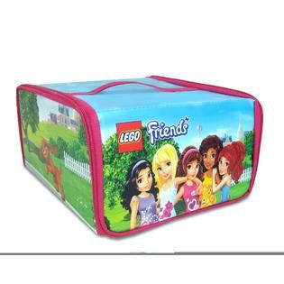 LEGO Neat Oh LEGO Friends ZipBin Heartlake Place Transforming Toy Box