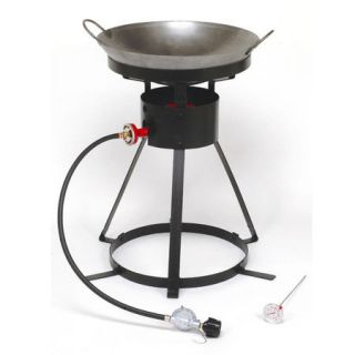 King Kooker 24 Outdoor Cooker Package with Wok