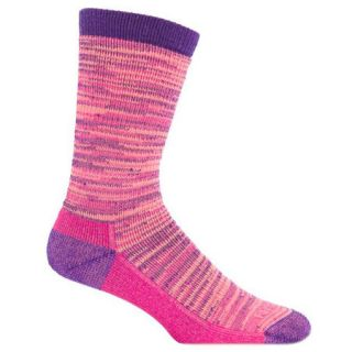 Farm To Feet Womens Bend Crew Stylized Traditional Hiker Sock
