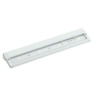 "Kichler 12313WH27 LED Under Cabinet Light, 12"" Design Pro 24V Strip   2700K   White"