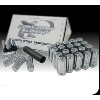 Pro Comp Alloy Wheels   24 Piece 14x1.5 Chrome H/T Lug Nut Kit