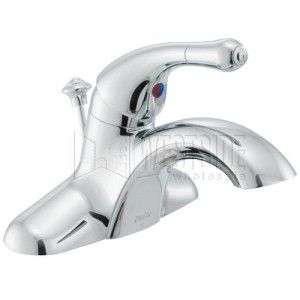 Delta 544 MPU DST Bathroom Faucet, Innovations Single Handle   Chrome