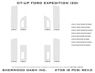 2007 2013 Ford Expedition Wood Dash Kits   Sherwood Innovations 2758 N50   Sherwood Innovations Dash Kits