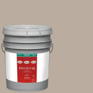 Glidden Premium 5 gal. #HDGWN25U Castle Rock Semi Gloss Latex Interior Paint with Primer HDGWN25UP 05S