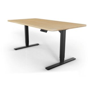 StandDesk Height Adjustable Desk by Peripheral Logix