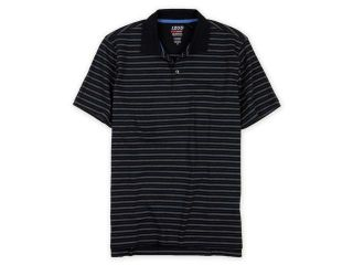 IZOD Mens Perform X Striped Rugby Polo Shirt 334 XL