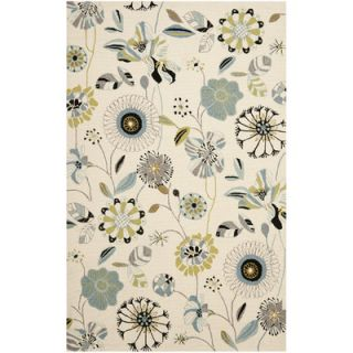 Safavieh Four Seasons Ivory & Blue Area Rug