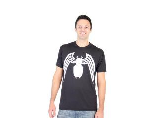 Spider Man Venom Legs Adult Black Performance T Shirt