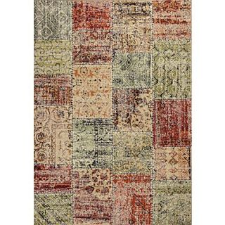 KAS Rugs Reflections Patchwork Area Rug; 710 x 112