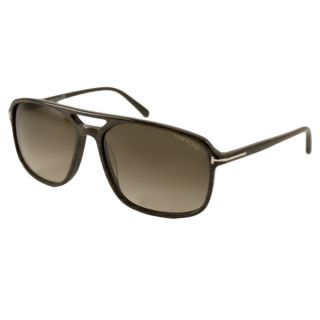 Tom Ford Mens TF0332 Terry Rectangular Sunglasses   Shopping
