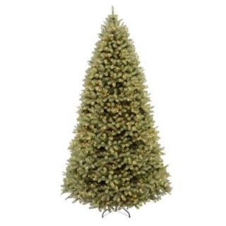 9 ft. FEEL REAL Downswept Douglas Fir Artificial Christmas Tree with 900 Clear Lights PEDD4 312 90