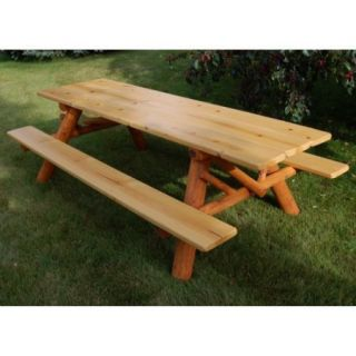 Moon Valley Cedar Works 8 ft. Picnic Table Kit