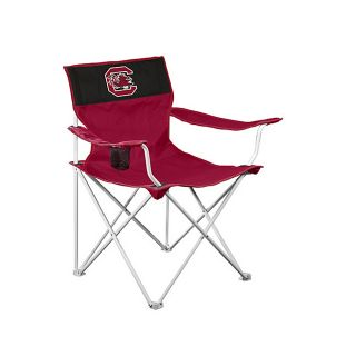 Logo Chairs NCAA University Of South Carolina Gamecocks Steel Folding Camping Chair