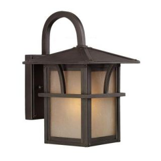 Sea Gull Lighting Medford Lakes 1 Light Outdoor Statuary Bronze Wall Mount Fixture 88880BLE 51