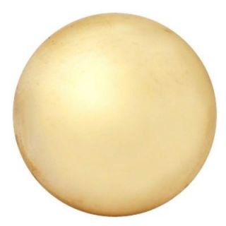 Copper Mountain Hardware 1 1/4 in. Polished Brass Round Cabinet Knob SH106US3L