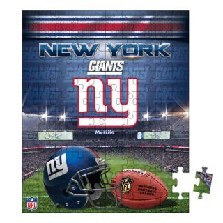 New York Giants Pouch 100 Piece Puzzle