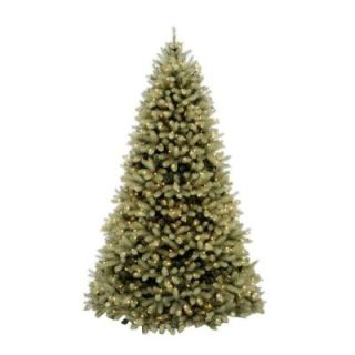 Home Accents Holiday 10 ft. Pre Lit Downswept Douglas Fir Artificial Christmas Tree with Clear Lights PEDD1 312 100