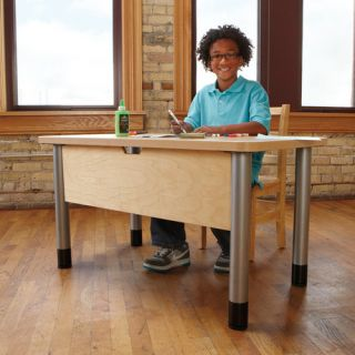 TrueModern 42 x 24 Rectangular Classroom Table by Jonti Craft