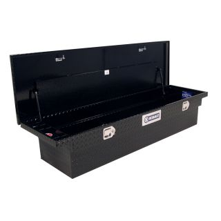 Kobalt 69 in x 20 in x 13 in Black Powder Coat Aluminum Full Size Truck Tool Box