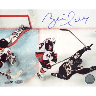Brett Hull Dallas Stars Game Winning Goal Overhead Horizontal 8x10