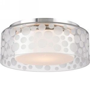 Hudson Valley HV 7811 SA Carter Satin Aluminum  Semi Flush Mount Lighting