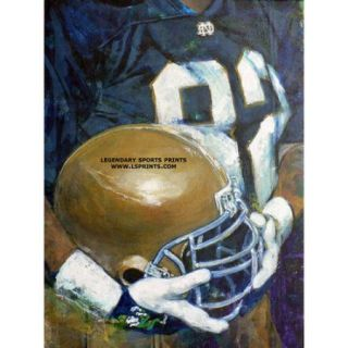 "NCAA - Notre Dame Fighting Irish - ""U of ND Helmet Series"" - Wall - Unframed Giclee"