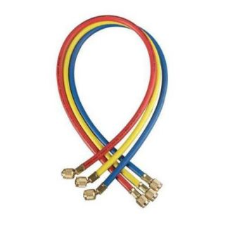 YELLOW JACKET 21072 Charging Hose, 72 In, Yellow