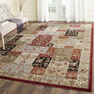 Safavieh Lyndhurst Collection Traditional Multicolor/ Ivory Rug (8 x