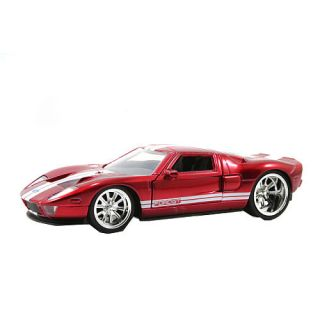 Jada Toys Dub City 132 Scale Diecast Vehicle   Red 2010 Ford Mustang GT    Jada Toys