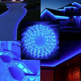 10pk 6ft American Lighting Blue LED Rope Light Christmas Holidays Indoor Outdoor