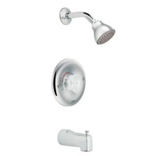 MOEN Chateau Posi Temp Single Handle 1 Spray Tub and Shower Faucet in Chrome (Valve Included) 2363