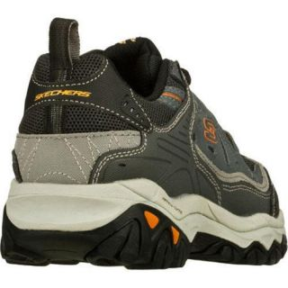 Mens Skechers After Burn Memory Fit Charcoal/Gray