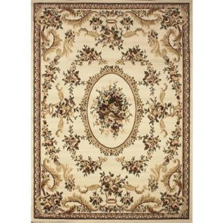 "Home Dynamix Royalty Collection Area Rug, Ivory, 7'8"" x 10'4"""