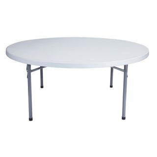 National Public Seating Blow Molded 71 Round Folding Table