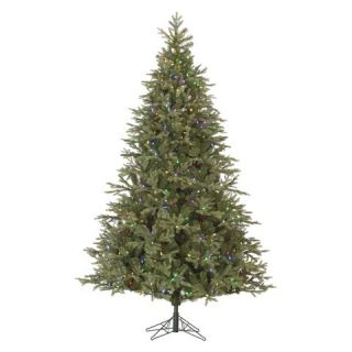 ft. Pre Lit Elk Frasier Fir LED Artificial Christmas Tree   Multi