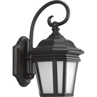 Progress Lighting Crawford Collection 1 Light Outdoor Black Wall Lantern P5685 31