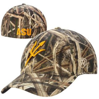 Arizona State Sun Devils Top of the World Blades Memory Fit Flex Hat – Camo