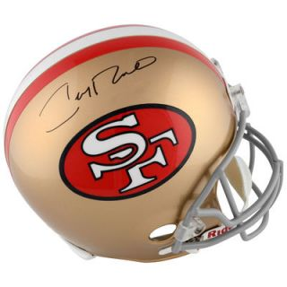 Jerry Rice San Francisco 49ers  Authentic Autographed Throw Back Replica Helmet